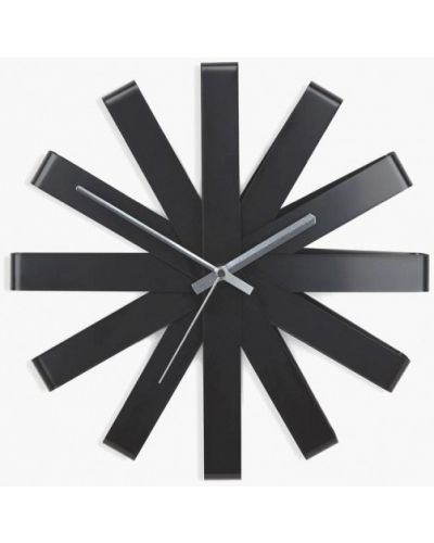 Черные часы Umbra
