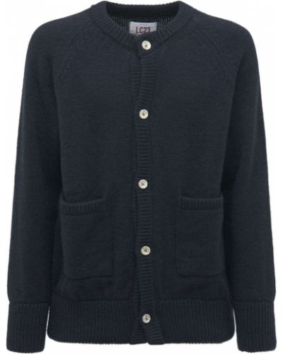 Niebieski sweter moherowy Lc23
