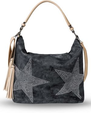 Бежевая сумка шоппер Bonprix