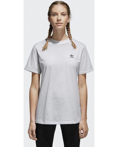Белое поло Adidas Originals