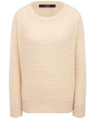 Кашемировый пуловер - бежевый Windsor