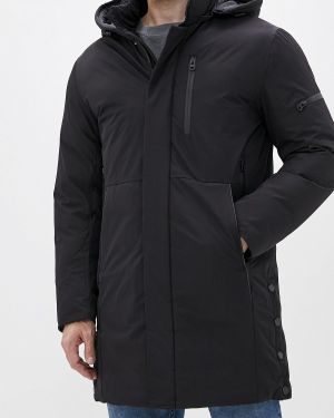 Зимняя куртка утепленная черная Winterra
