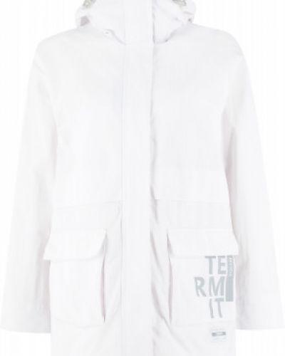 Свободная белая куртка свободного кроя Termit