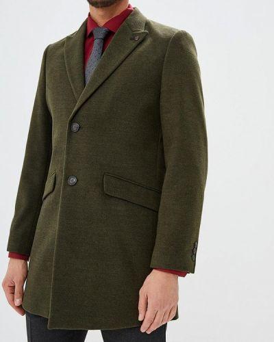 Пальто хаки зеленый Burton Menswear London