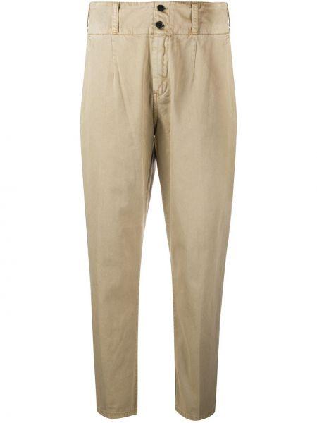 Укороченные брюки с завышенной талией с карманами Current/elliott