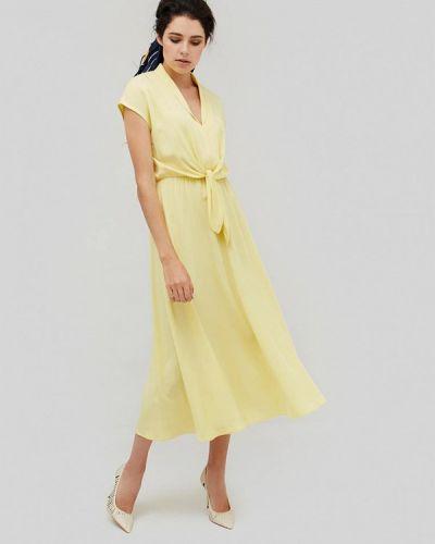 Желтое платье Cardo