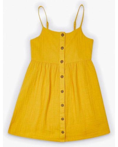 Желтый сарафан Marks & Spencer