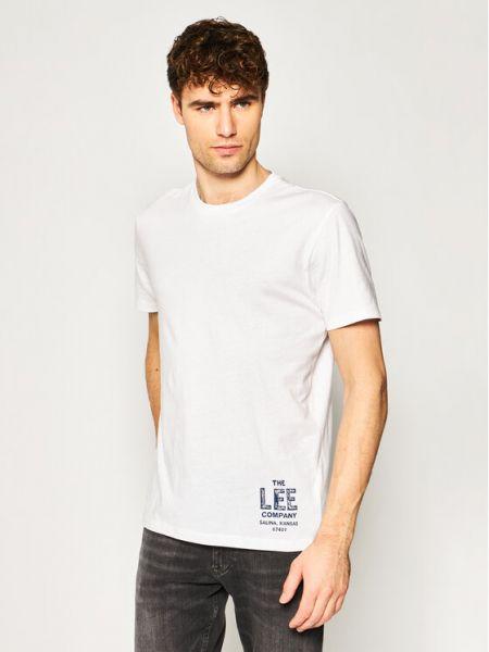 T-shirt - biała Lee