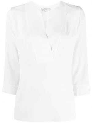 Белая шифоновая блузка Antonelli