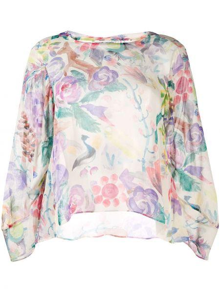 Рубашка с принтом с цветочным принтом Tsumori Chisato