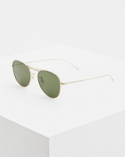 Солнцезащитные очки круглые 2019 Oliver Peoples