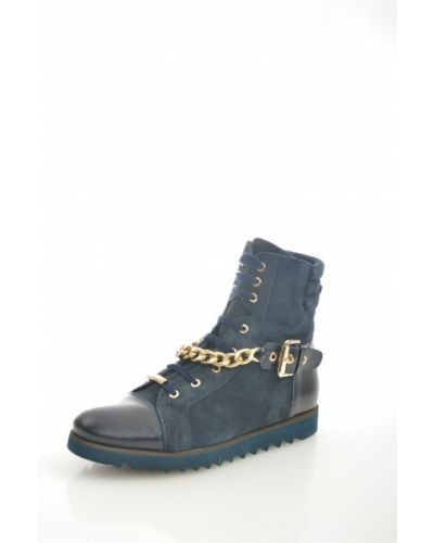 Кожаные ботинки черные кожаные Giotto
