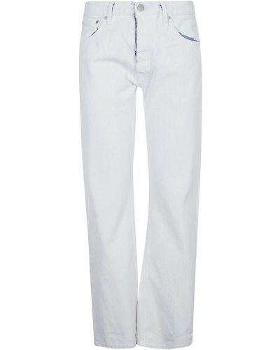 Białe spodnie Maison Margiela