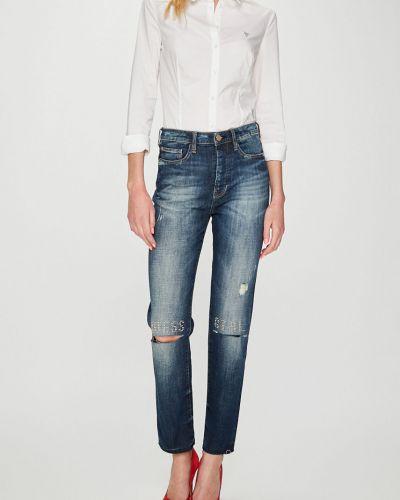 Джинсы-скинни с карманами с поясом Guess Jeans