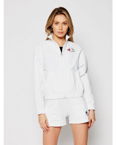 Biała kurtka Champion