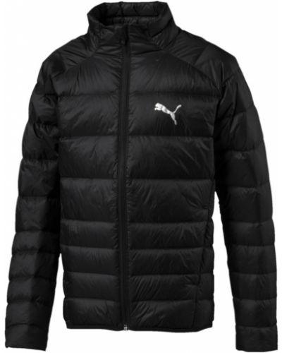 Зимняя куртка черная теплая Puma