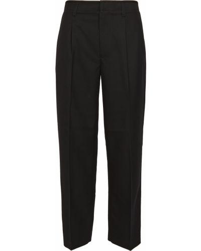 Spodni bawełna czarny przycięte spodnie rozciągać Club Monaco