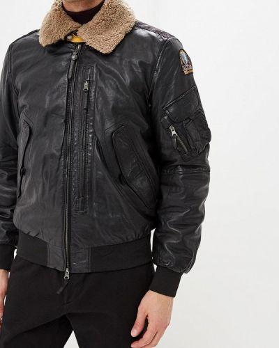 Куртка осенняя кожаная Parajumpers
