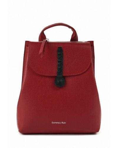 Красный рюкзак городской Dominico Rubi