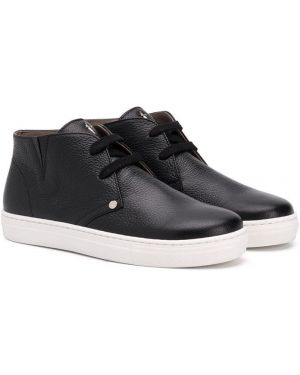 Черные ботинки Cesare Paciotti Kids