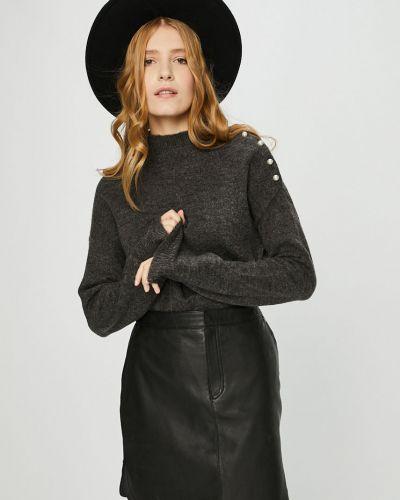 Sweter z aplikacjami szary Vero Moda