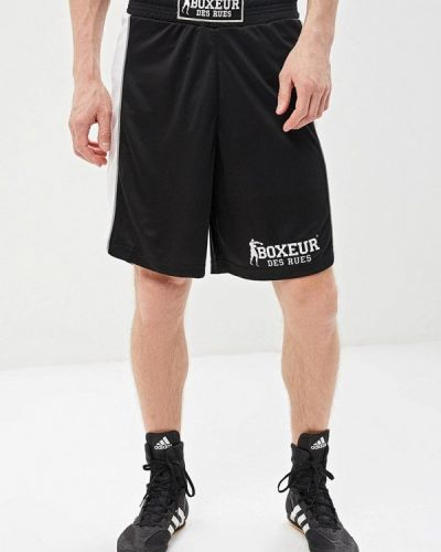 Спортивные шорты - черные Boxeur Des Rues