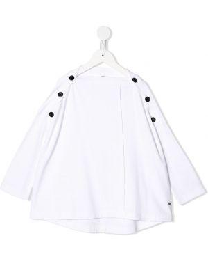 Белая блуза квадратная Fith
