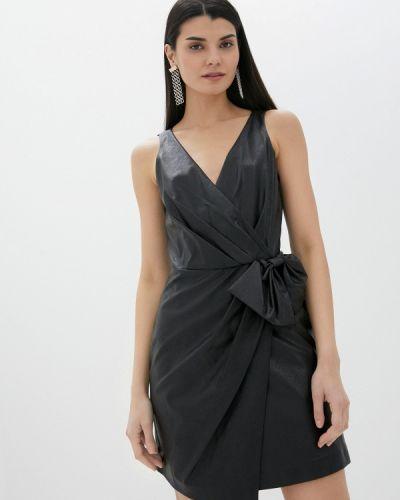 Кожаное платье Sisley