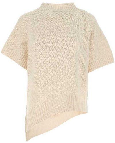 Beżowa koszulka Agnona