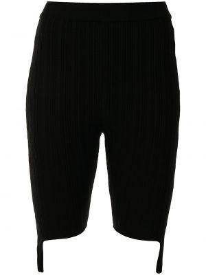 Трикотажные шорты - черные Sjyp