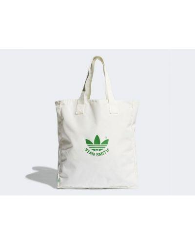 Biała torba na zakupy Adidas