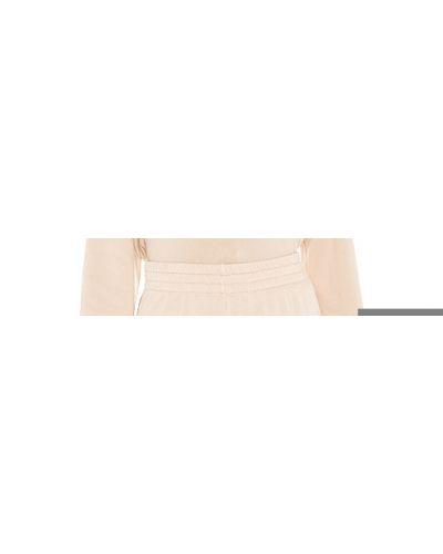 Bawełna beżowy majtki w połowie kolana z kieszeniami Wildfox Couture