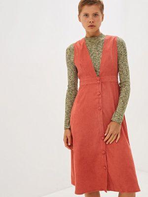 Платье коралловый платье-сарафан Compañía Fantástica