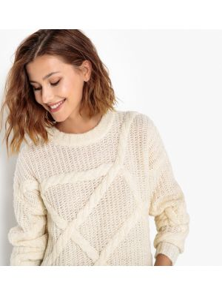 Пуловер шерстяной акриловый Selected Femme