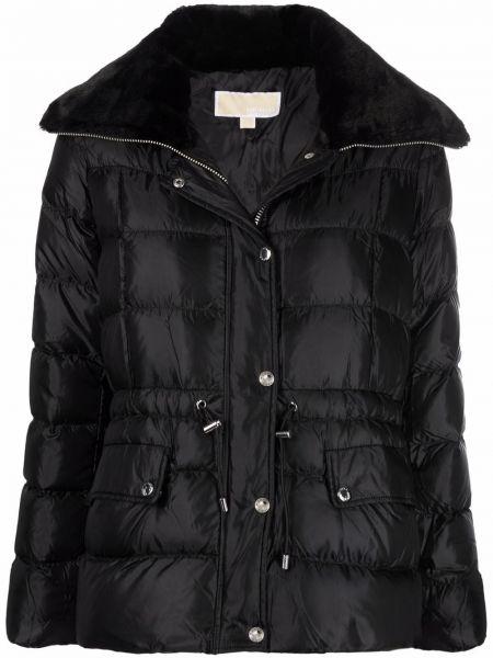 Черная приталенная куртка Michael Michael Kors