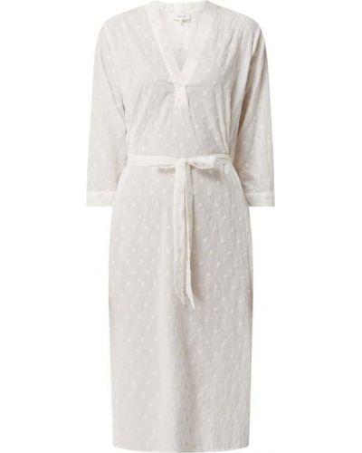 Biała sukienka rozkloszowana bawełniana Levete Room