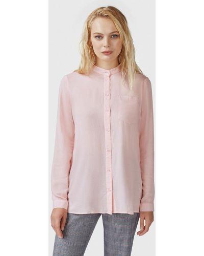 Блузка с длинным рукавом розовая весенний Pompa