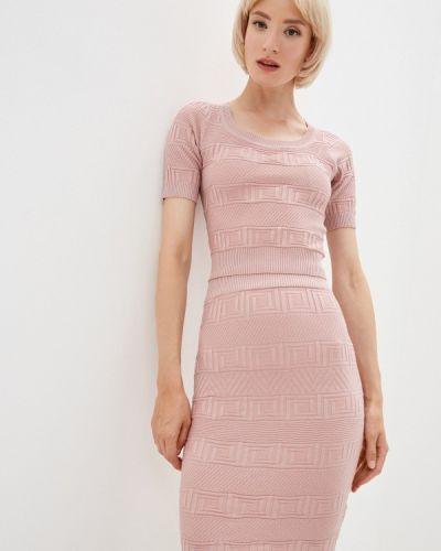 Вязаный костюм - розовый Soky & Soka