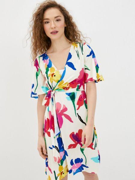 Платье с запахом весеннее Envie De Fraise