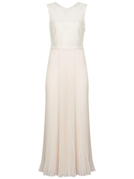 Хлопковое платье - белое Peserico