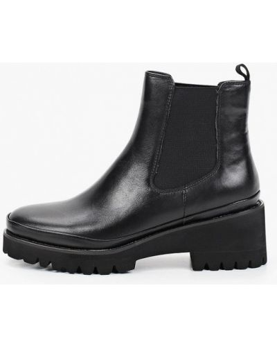 Черные ботинки челси осенние Der Spur