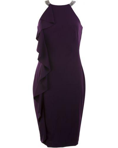Fioletowa sukienka mini Ralph Lauren