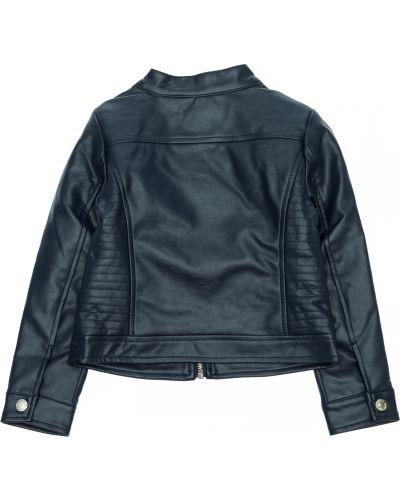 Синяя кожаная куртка Blukids
