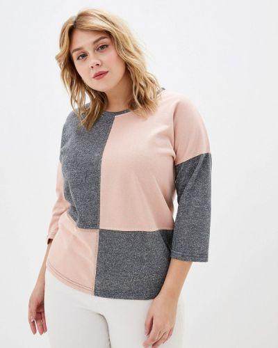 Блузка розовая осенняя Milanika