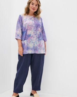 Фиолетовый костюмный костюм авантюра Plus Size Fashion