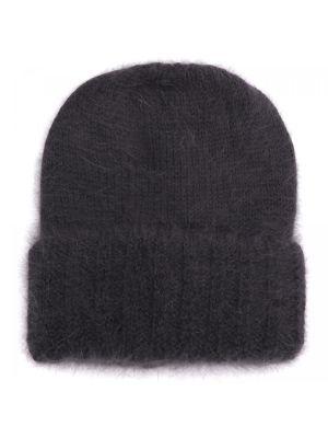 Трикотажная шапка - черная Carlo Visintini