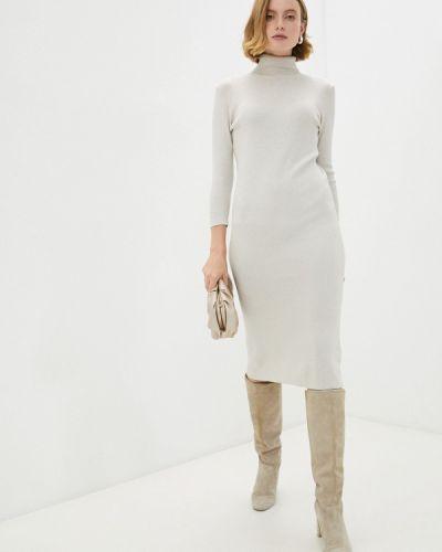 Вязаное платье - бежевое Vitacci