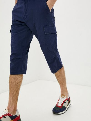 Синие повседневные шорты S.oliver