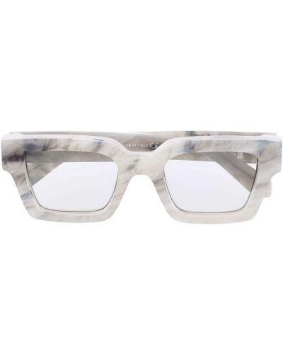 Белые солнцезащитные очки Off-white