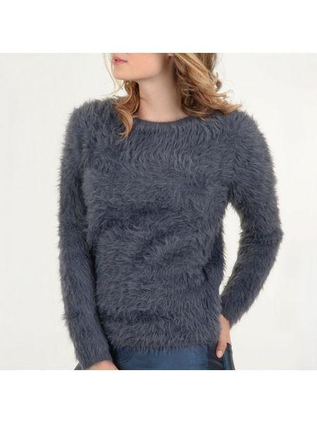 Классический акриловый пуловер круглый с круглым вырезом Molly Bracken